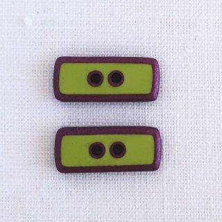 ボタン 長方形 黄緑