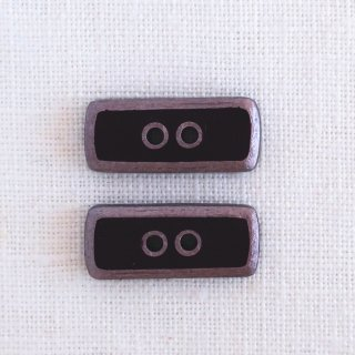 ボタン 長方形 ショコラ