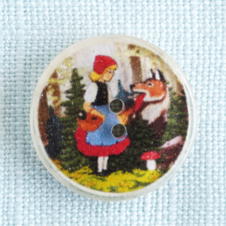 赤ずきんちゃんのボタン ドイツ製