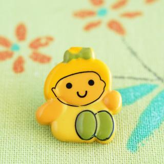 レモンちゃんボタン フランス製