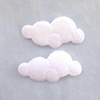 アップリケ 雲