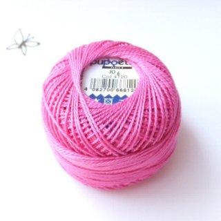 ハンガリー刺繍用刺繍糸 puppets perle cotton 8    濃いピンク