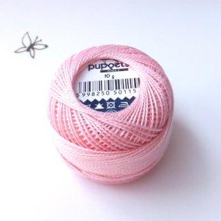 ハンガリー刺繍用 刺繍糸 puppets perle cotton 8   薄ピンク