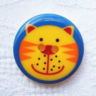 ボタン トラ猫 25mm