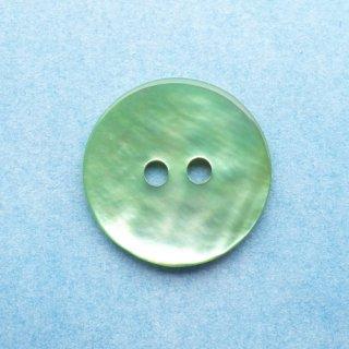 カラー貝ボタン15mm ライトグリーン