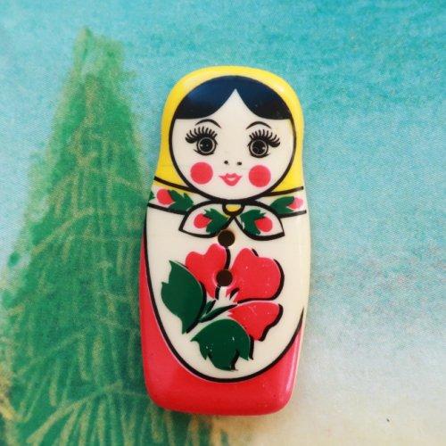 マトリョーシカ ボタン