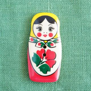ボタン マトリョーシカ