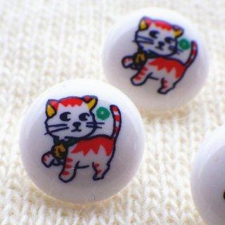 ボタン トラ猫