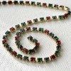 Vintage Swarovski Rhinestone Chain 18pp【30cm】
