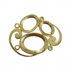 Gold Casted Multi Settings・ Ovals 14x10mm / 18x13mm / 25x10mm