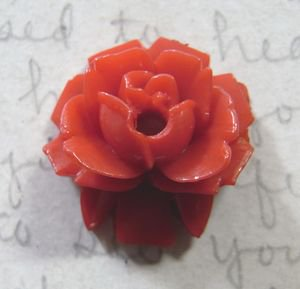 Vintage Rose Cabs Rich Red 18mm