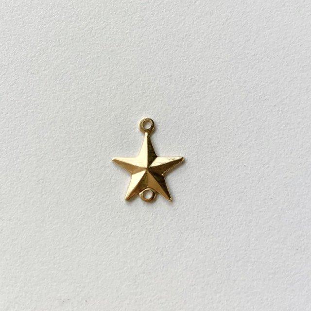 ブラスチャームコネクター・Star