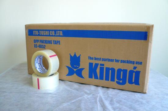 激安 透明テープ 65ミクロン (50巻入)