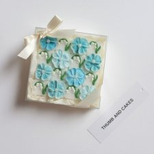 BLUE FLOWER SUGAR BOX