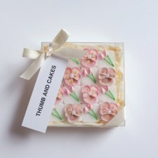 PINK FLOWER SUGAR BOX