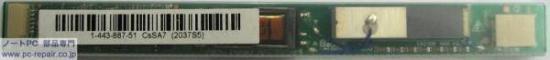 NEC/TOKIN D2037-B001-S3-0 SONY VGN-CR72B/W液晶インバータ