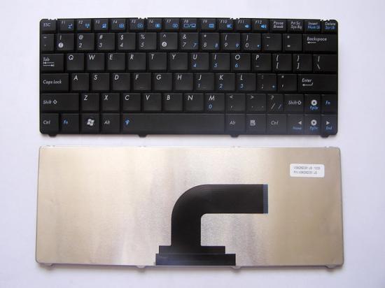 【クリックで詳細表示】ASUS 1101HA 英字キーボード 黒