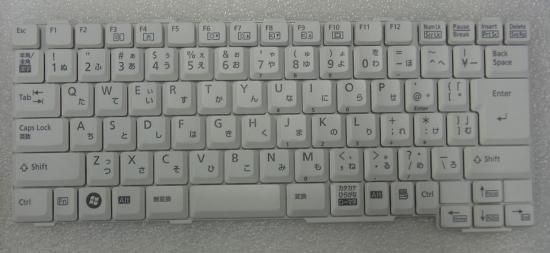 富士通 A8280 A6270  A8255 NF40/NF70/NB50用 日本語 キーボード 中古品