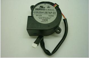 SERVO  5025 E0525H12B7AP-22 12V 0.23A  CPUファン