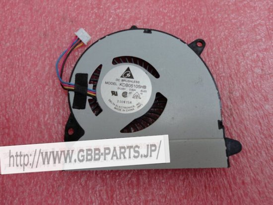 DELTA DC5V 0.40A KDB05105HB-BJ2 CPU ファン