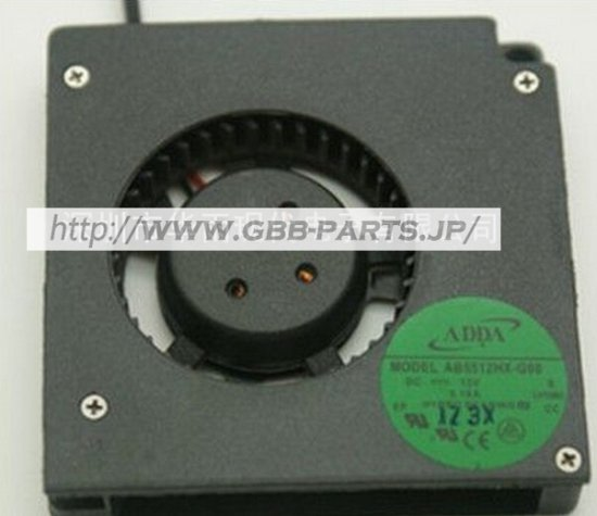 ADDA 5510 12V 0.19A 5CM CPU ファン