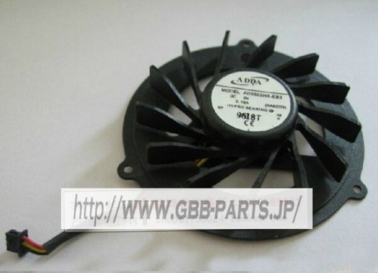ADDA AD5505HX-EB3 KAKC03 5V 0.18A CPU ファン