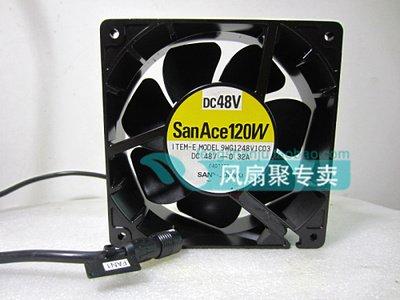 Sanyo 9WG1248V1C03 12CM 12038 48V0.32A