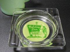 ★60'sアメリカンホテル ホリデイ・イン ガラス製灰皿