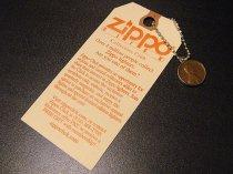 ★70'sジッポーzippoペニーコイン「幸運のコイン」キーリング&タグ(1971年)