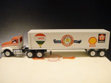 ★90'sアメリカ石油製品サービス会社50周年記念ウィンロス製ミニチュアトレーラー