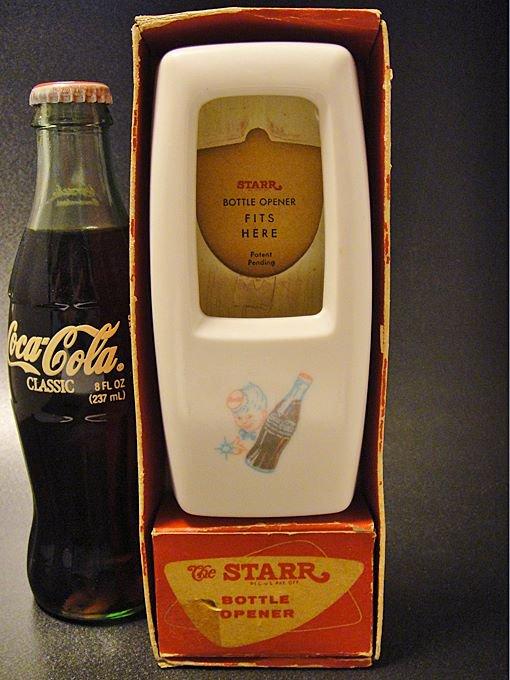 【ワケあり】★OUTLET!?50'sコカ・コーラ・スプライトボーイ・ボトルオープナー&ボトルキャッチャー箱付
