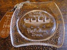 ★70'sアメリカンホテル ホリデイ・イン ガラス製灰皿