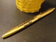 ★70'sアメリカ製プランターズ社ミスター・ピーナッツ金属ゴールド色ボールペン