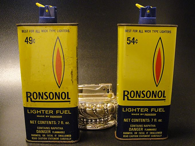 ★60'sロンソン・ノールRONSONOLオイル缶(空き缶)各種