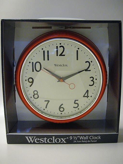 ★50'sスタイル アメリカン壁掛け時計Westclox製未使用