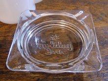 ★80'sアメリカンホテル ホリデイ・イン ガラス製灰皿