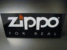 ★00'sジッポーZIPPO FOR REAL デスクサインプレート