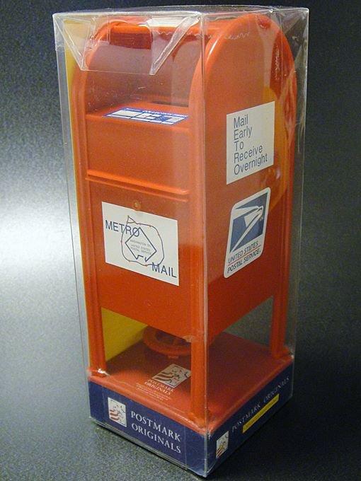 【ワケあり】★OUTLET!?アメリカ郵便局USPSポスト貯金箱