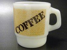 ★70'sアメリカ製アンカーホッキングCOFFEEマグカップ