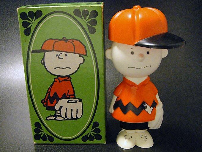 【ワケあり】★OUTLET!?70'sエイボンAVONピーナッツキャラクター・チャーリーブラウンシャンプーボトル…