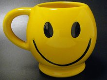 ★70'sアメリカ製マッコイ社スマイリーマグカップ