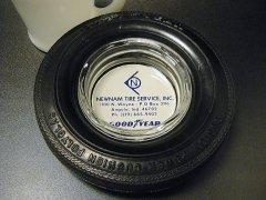 【送料無料】★70'sアメリカ GOODYEAR グッドイヤータイヤ型ヴィンテージ灰皿