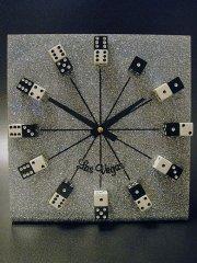 ★ラスベガス ダイス置時計