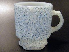 ★70'sファイヤーキング スプラッシュ・コンコードマグカップ青色
