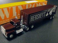 ★90'sアメリカ ハーシーキスチョコ ウィンロス社製ミニチュアトラックトレーラー