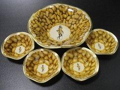 ★50'sプランターズ ミスターピーナッツ ボウル5個セット