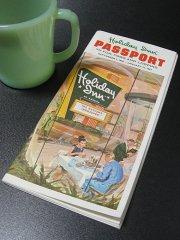 ★60'sアメリカンホテル ホリデイ・イン パスポート ガイドブック1966年