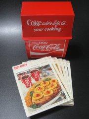★70'sコカ・コーラ クッキング料理レシピボックス セット未開封