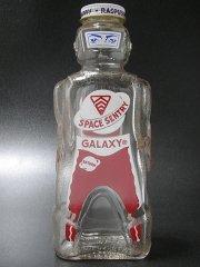 ★50'sギャラクシーシロップ・スペースセントリー・ボトル貯金箱レッドブラウン