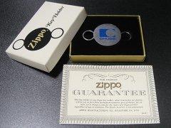 ★70'sジッポー製アメリカCHUBBチャブ保険会社ノベルティ キーホルダー箱付未使用